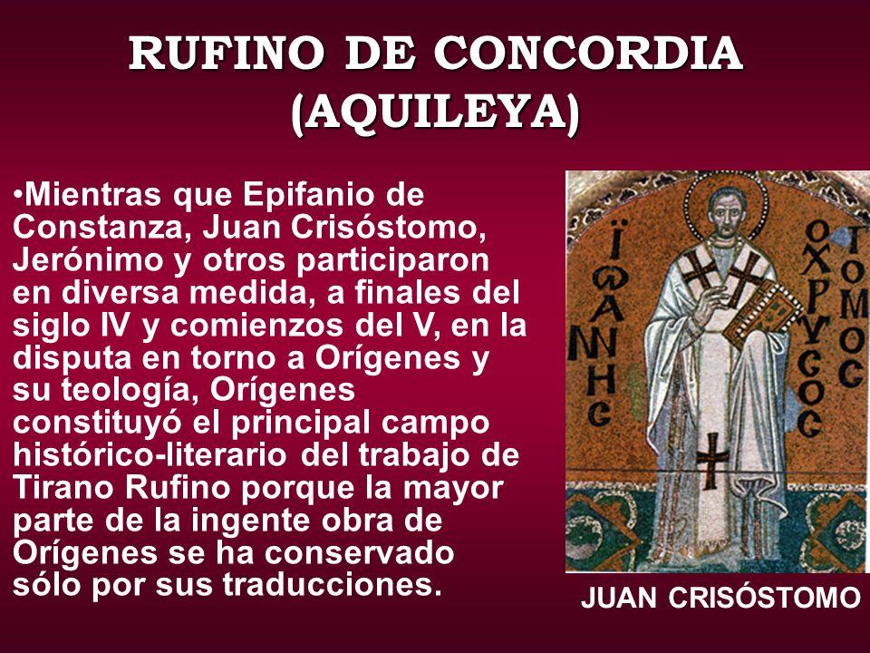 RUFINO DE CONCORDIA (AQUILEYA)