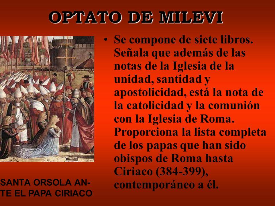 OPTATO DE MILEVI
