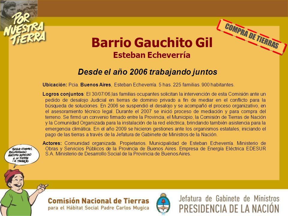 Barrio Gauchito Gil Esteban Echeverría