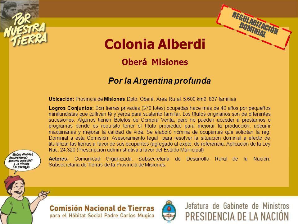 Por la Argentina profunda
