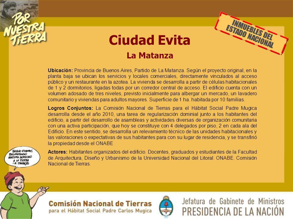 INMUEBLES DEL ESTADO NACIONAL