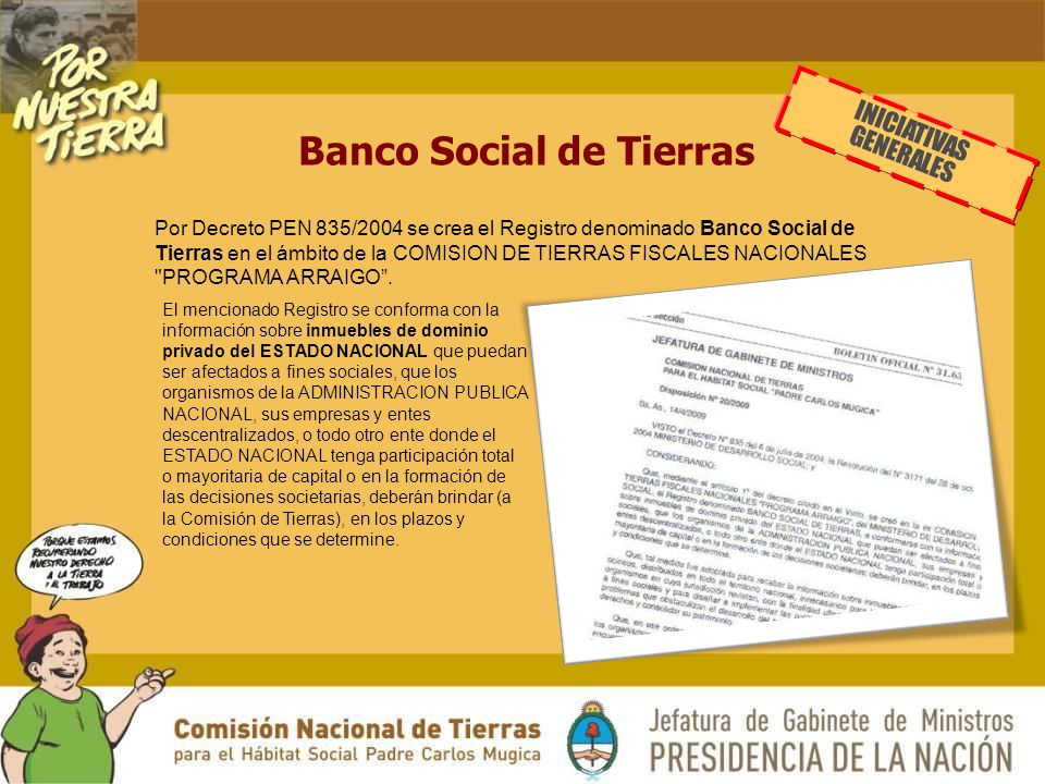 Banco Social de Tierras
