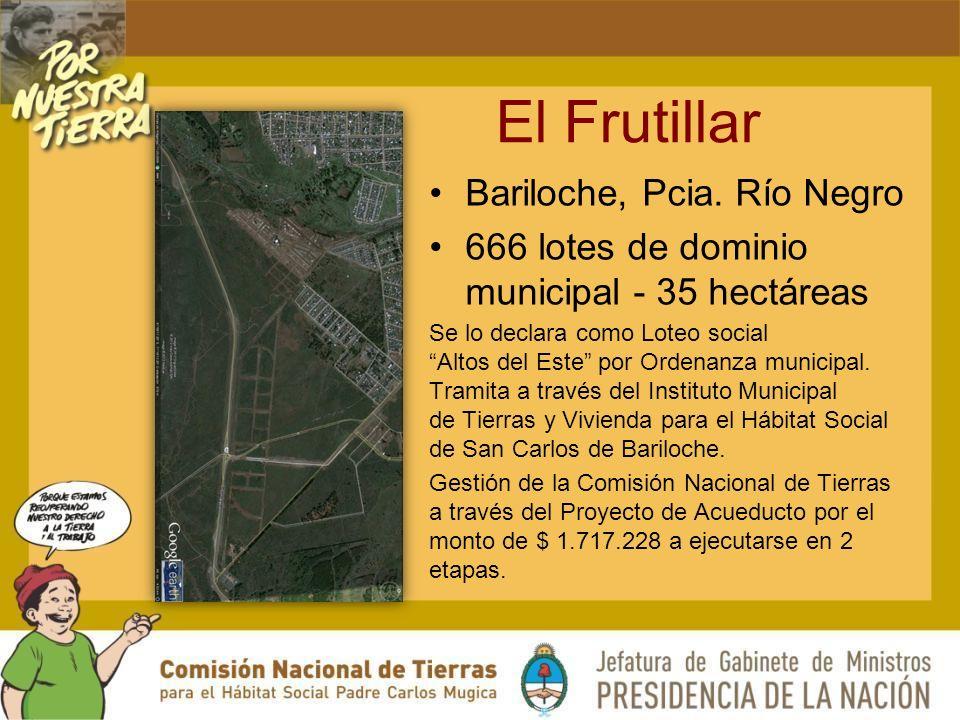 El Frutillar Bariloche, Pcia. Río Negro