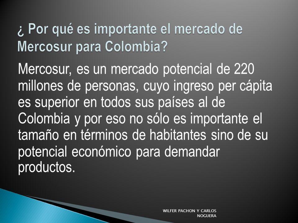 ¿ Por qué es importante el mercado de Mercosur para Colombia