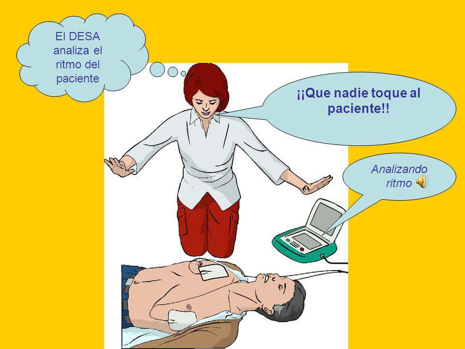 ¡¡Que nadie toque al paciente!!