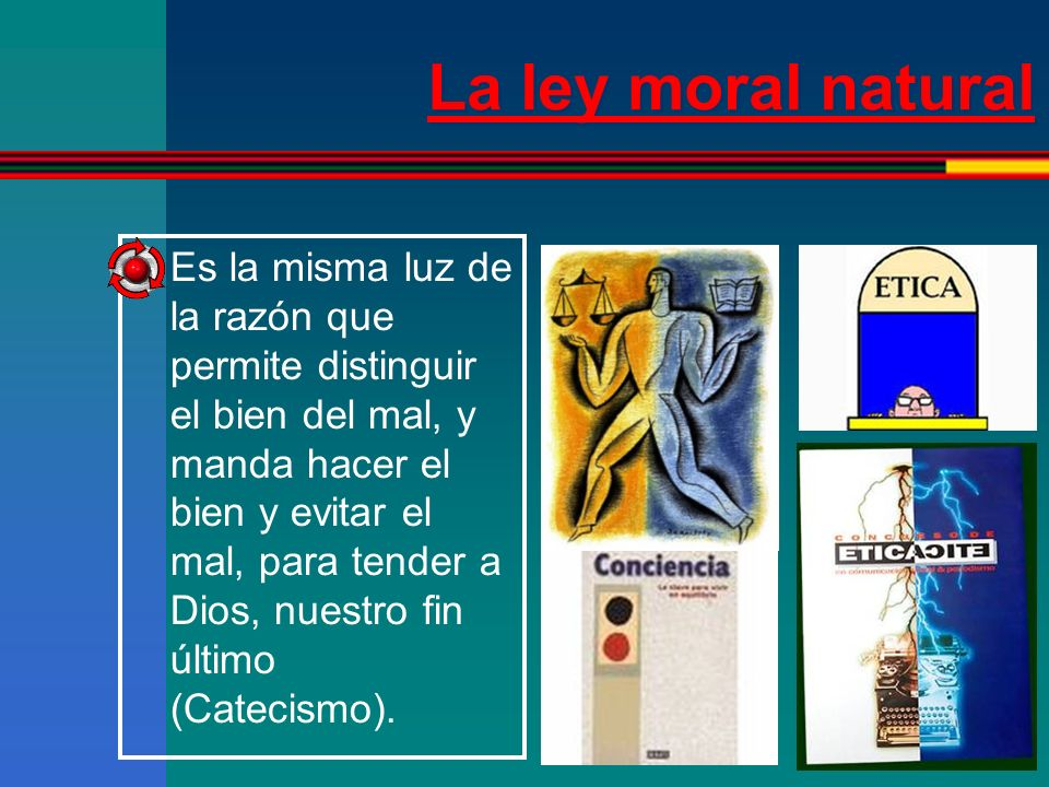 La ley moral natural
