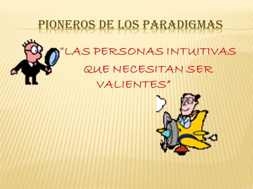 Pioneros de los paradigmas