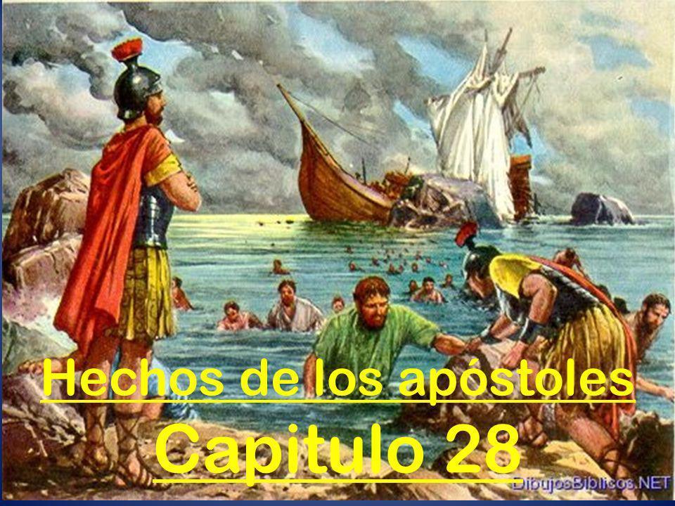 Hechos de los apóstoles Capitulo 28