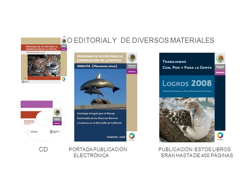 Difusión DISEÑO EDITORIAL Y DE DIVERSOS MATERIALES CD