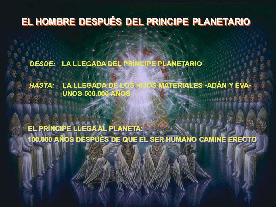 EL HOMBRE DESPUÉS DEL PRINCIPE PLANETARIO