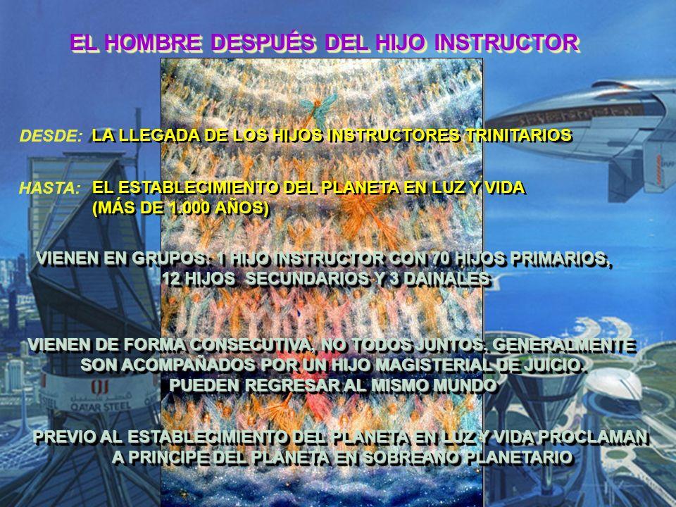 EL HOMBRE DESPUÉS DEL HIJO INSTRUCTOR