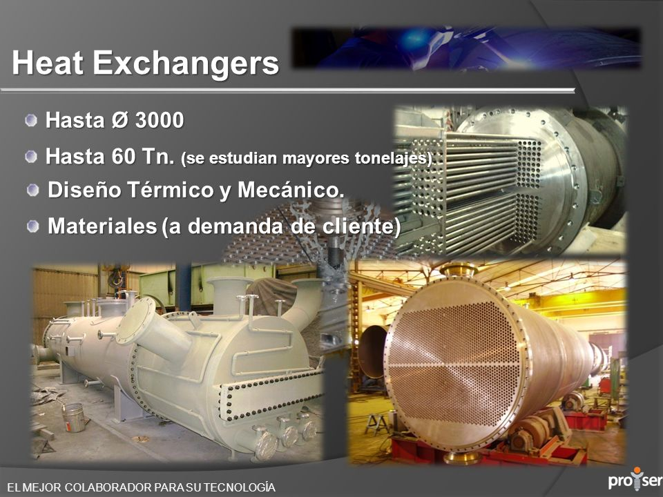 Heat Exchangers Hasta Ø 3000