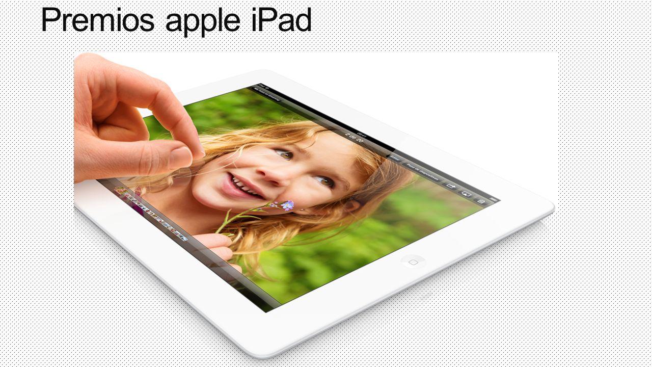 Premios apple iPad