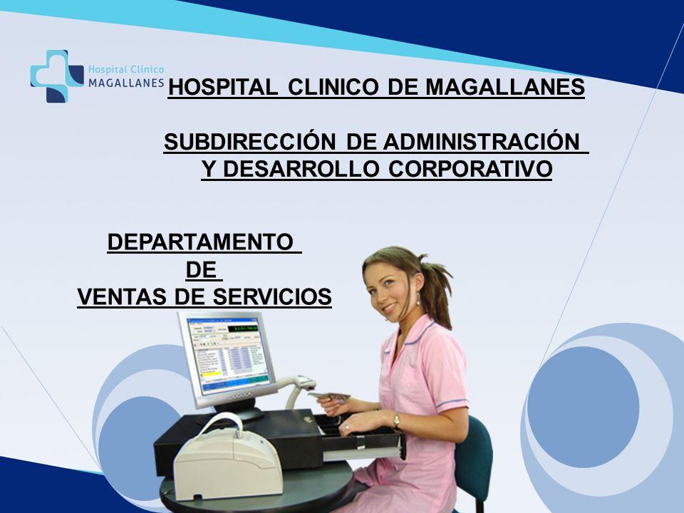 HOSPITAL CLINICO DE MAGALLANES SUBDIRECCIÓN DE ADMINISTRACIÓN