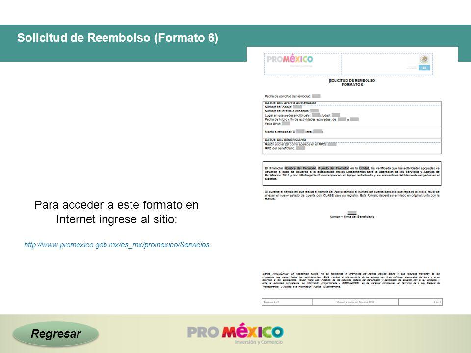 Solicitud de Reembolso (Formato 6)