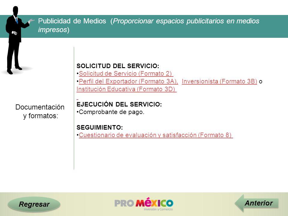 Publicidad de Medios (Proporcionar espacios publicitarios en medios impresos)