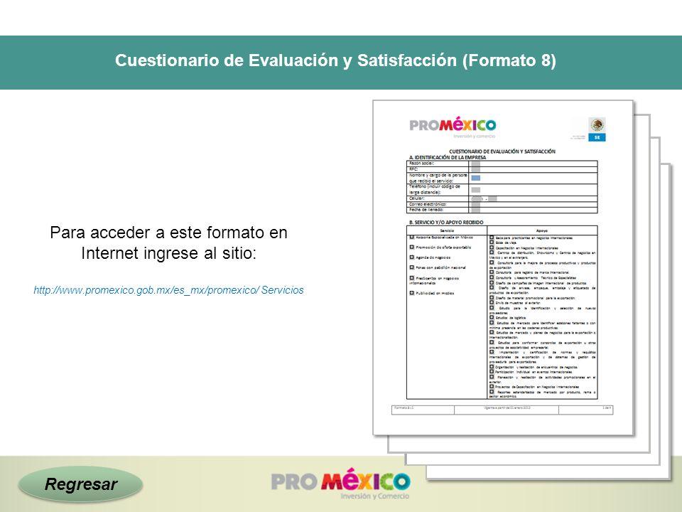 Cuestionario de Evaluación y Satisfacción (Formato 8)