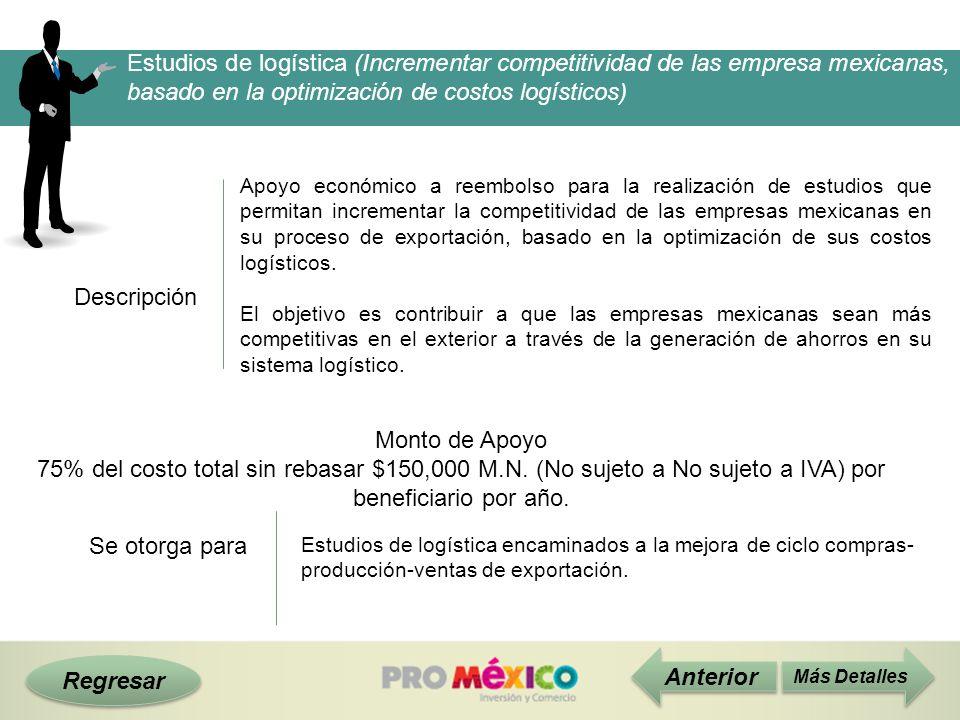 Estudios de logística (Incrementar competitividad de las empresa mexicanas, basado en la optimización de costos logísticos)