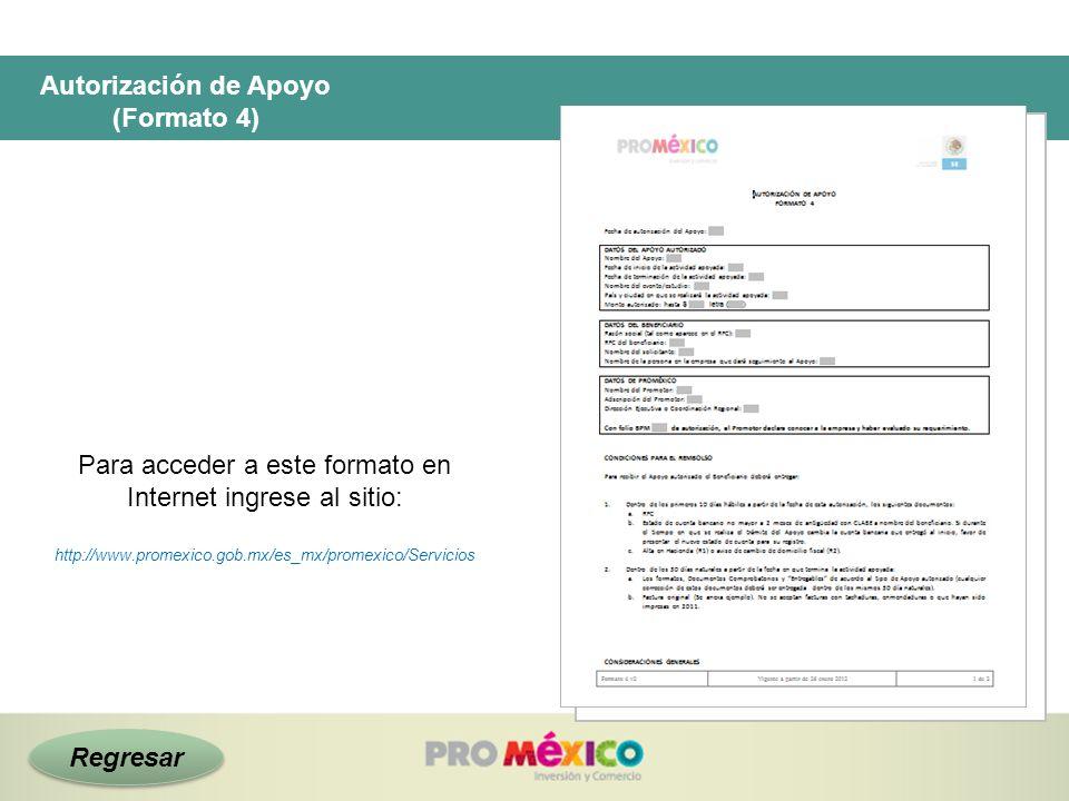 Para acceder a este formato en Internet ingrese al sitio: