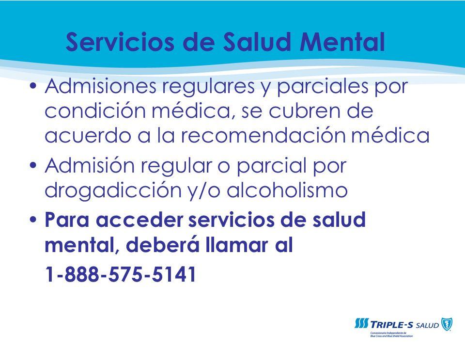 Servicios de Salud Mental