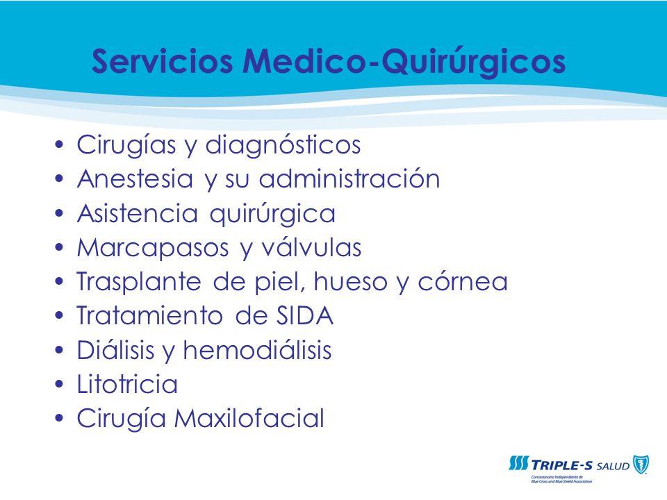 Servicios Medico-Quirúrgicos