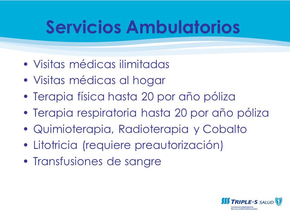 Servicios Ambulatorios
