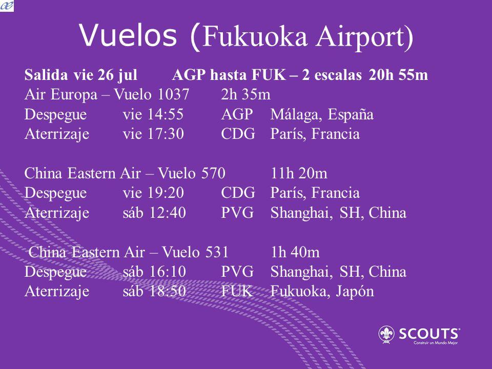 Vuelos (Fukuoka Airport)