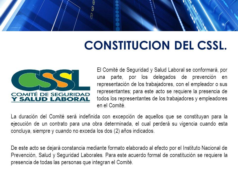 CONSTITUCION DEL CSSL.
