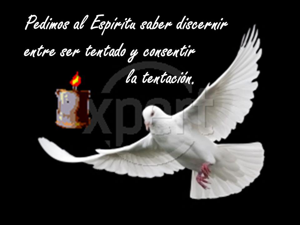 Pedimos al Espíritu saber discernir