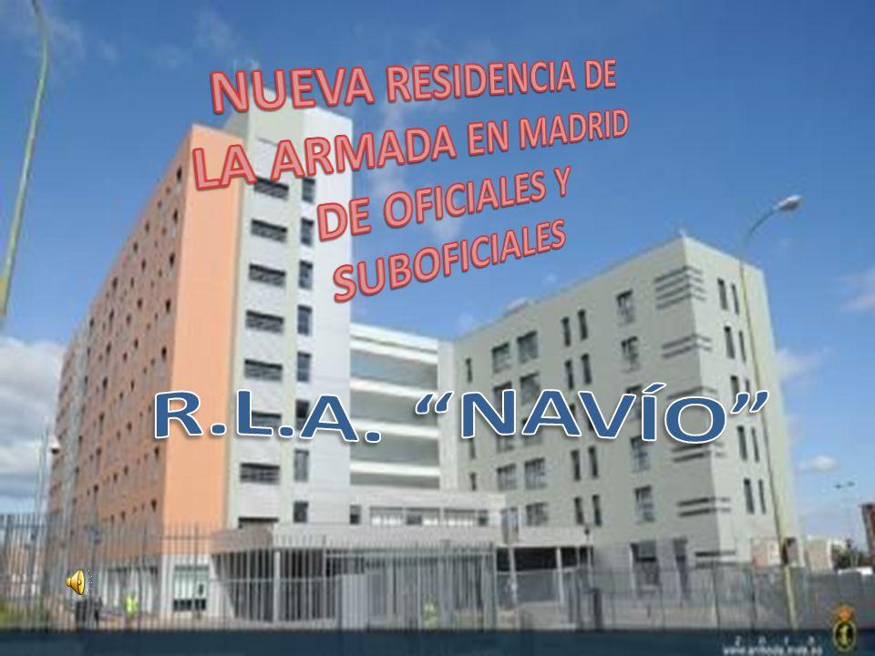 NUEVA RESIDENCIA DE LA ARMADA EN MADRID DE OFICIALES Y SUBOFICIALES