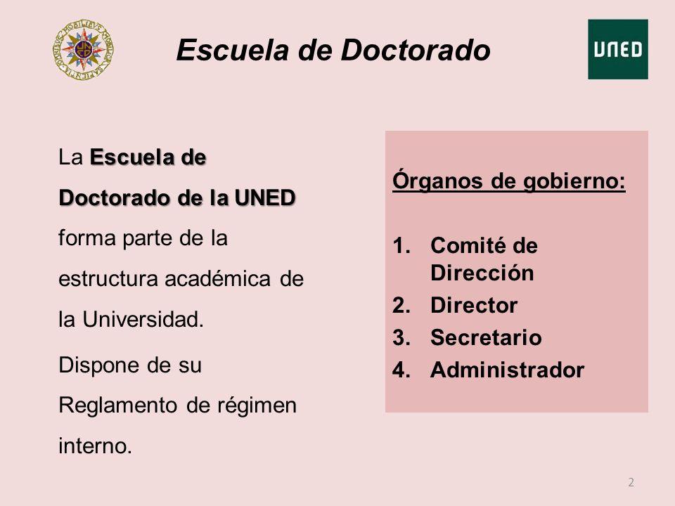 Escuela de Doctorado