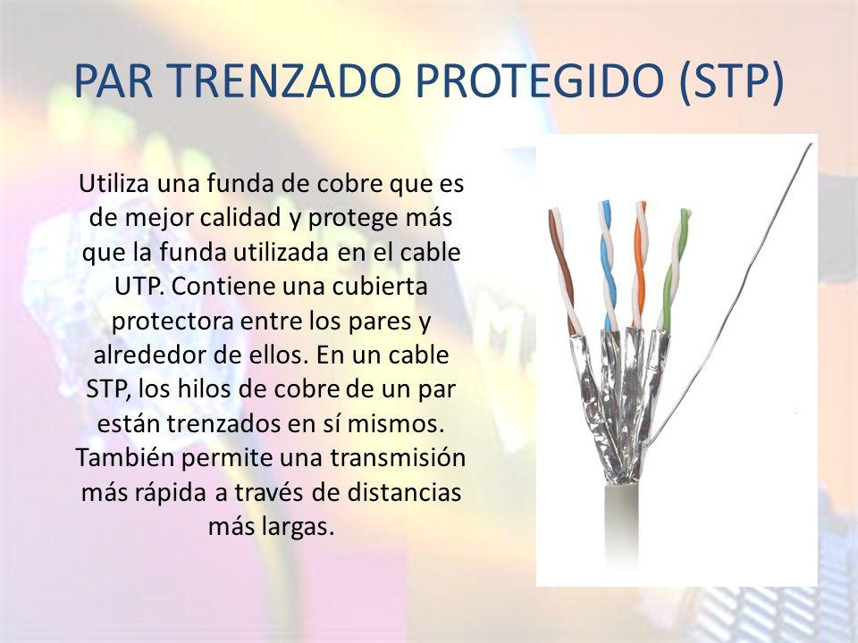 PAR TRENZADO PROTEGIDO (STP)