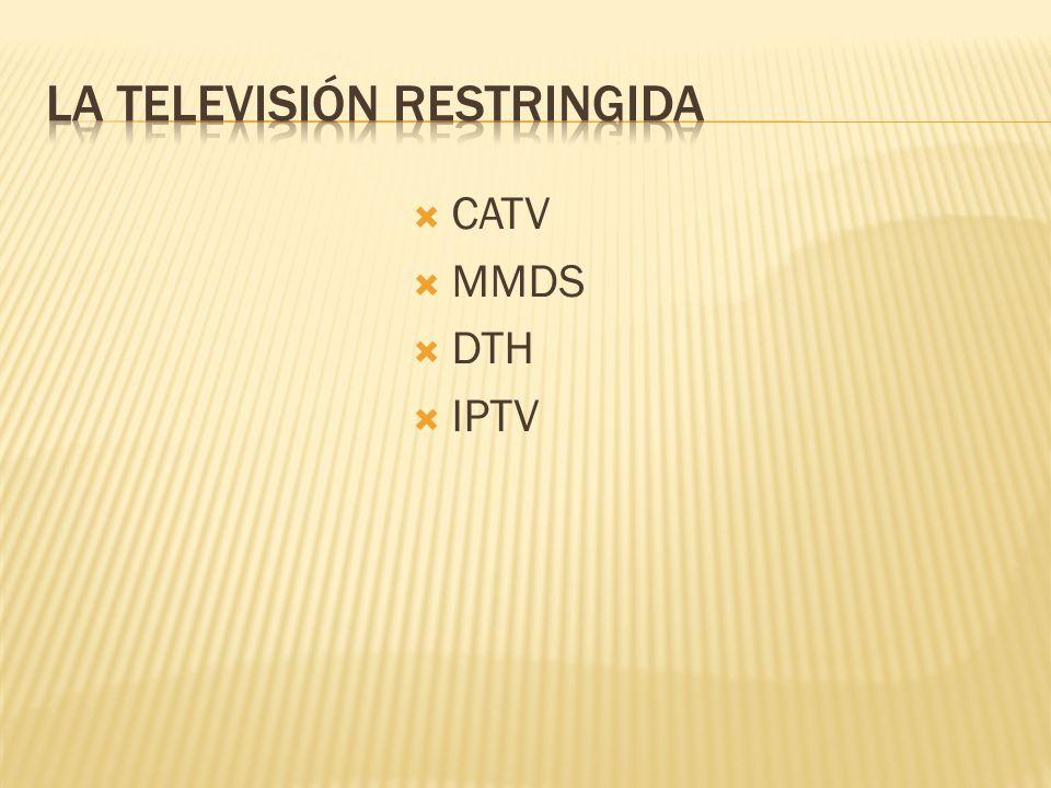 La telEvisión restringida