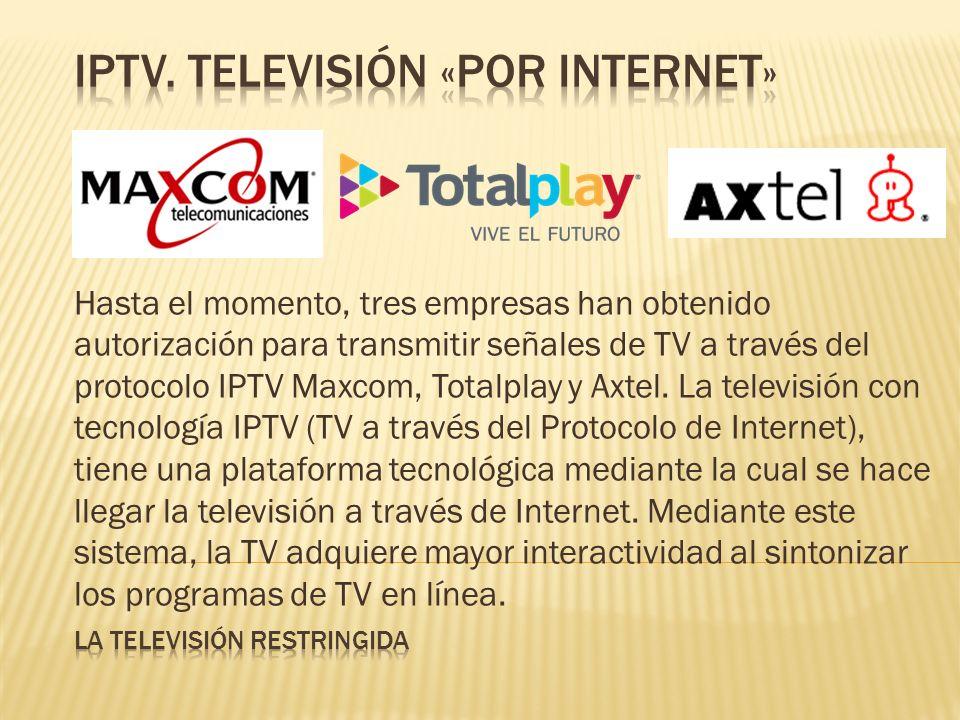 iptv. televisión «por internet»