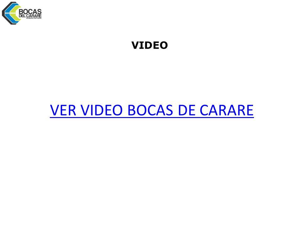 VER VIDEO BOCAS DE CARARE