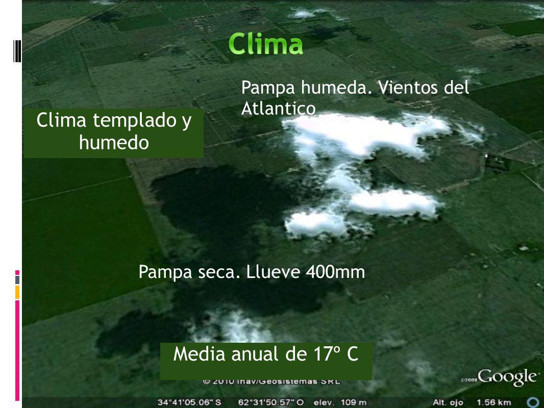 Clima templado y humedo