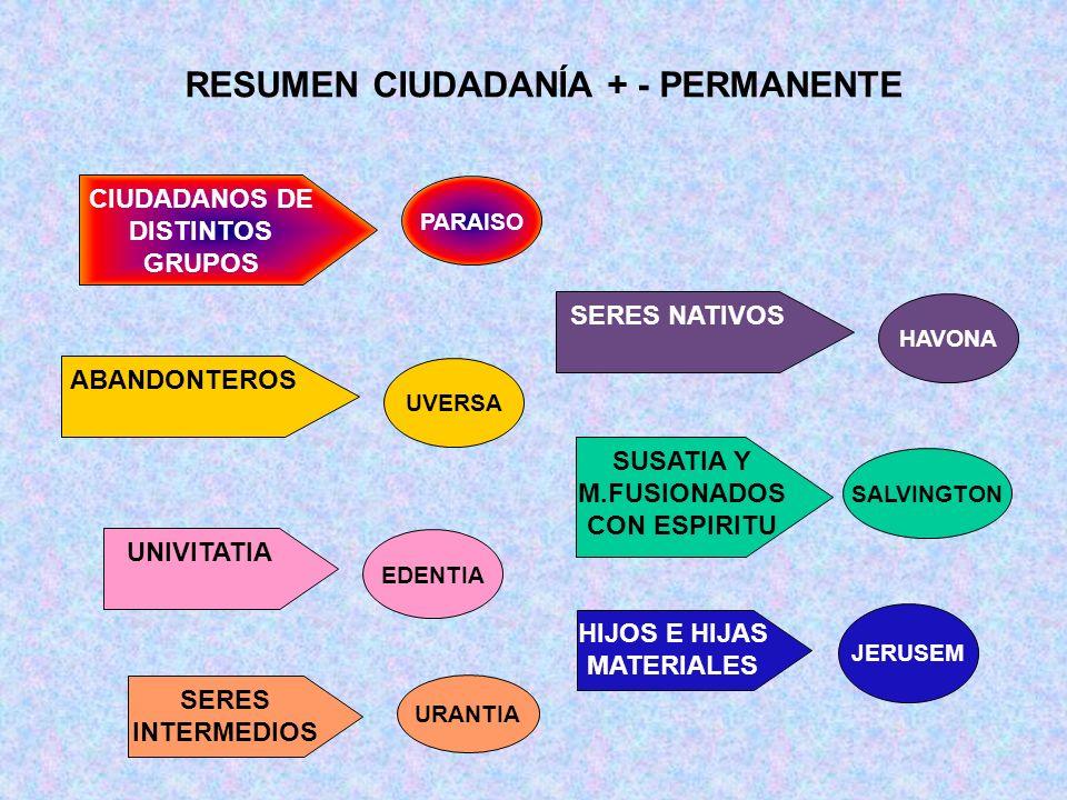 RESUMEN CIUDADANÍA + - PERMANENTE