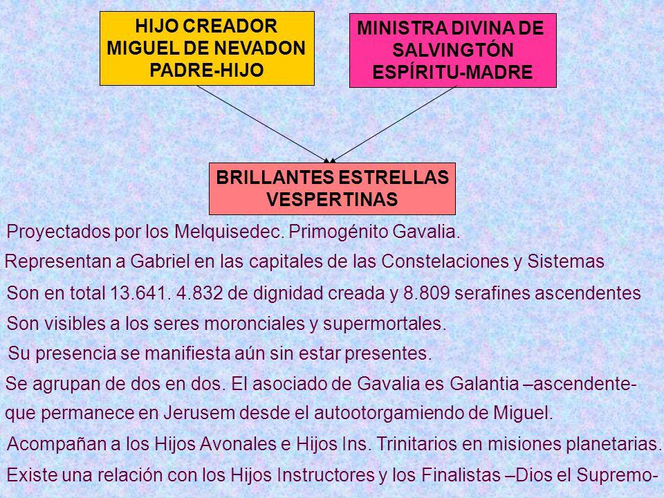 Proyectados por los Melquisedec. Primogénito Gavalia.