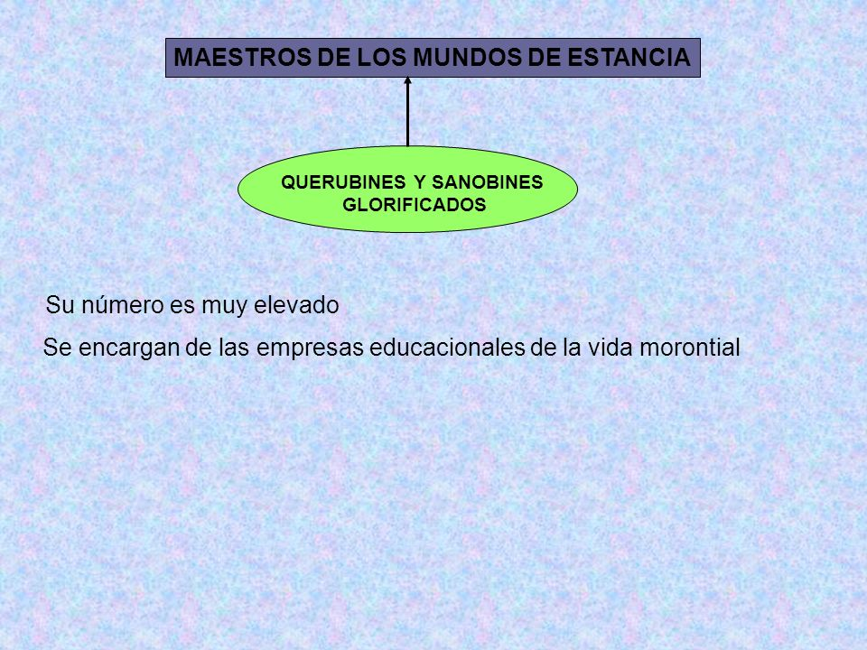 MAESTROS DE LOS MUNDOS DE ESTANCIA