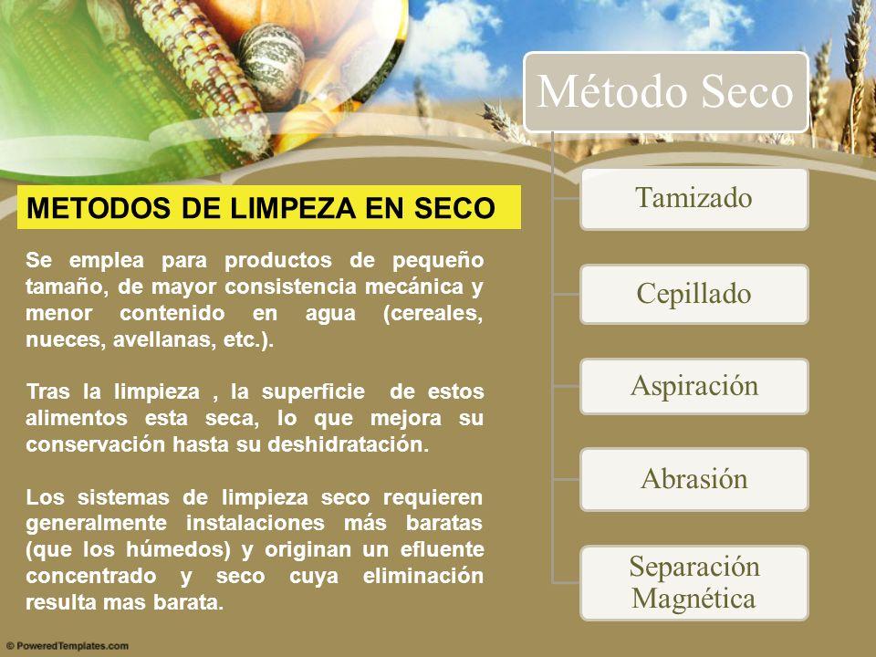 METODOS DE LIMPEZA EN SECO