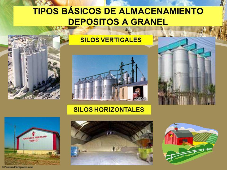 TIPOS BÁSICOS DE ALMACENAMIENTO DEPOSITOS A GRANEL