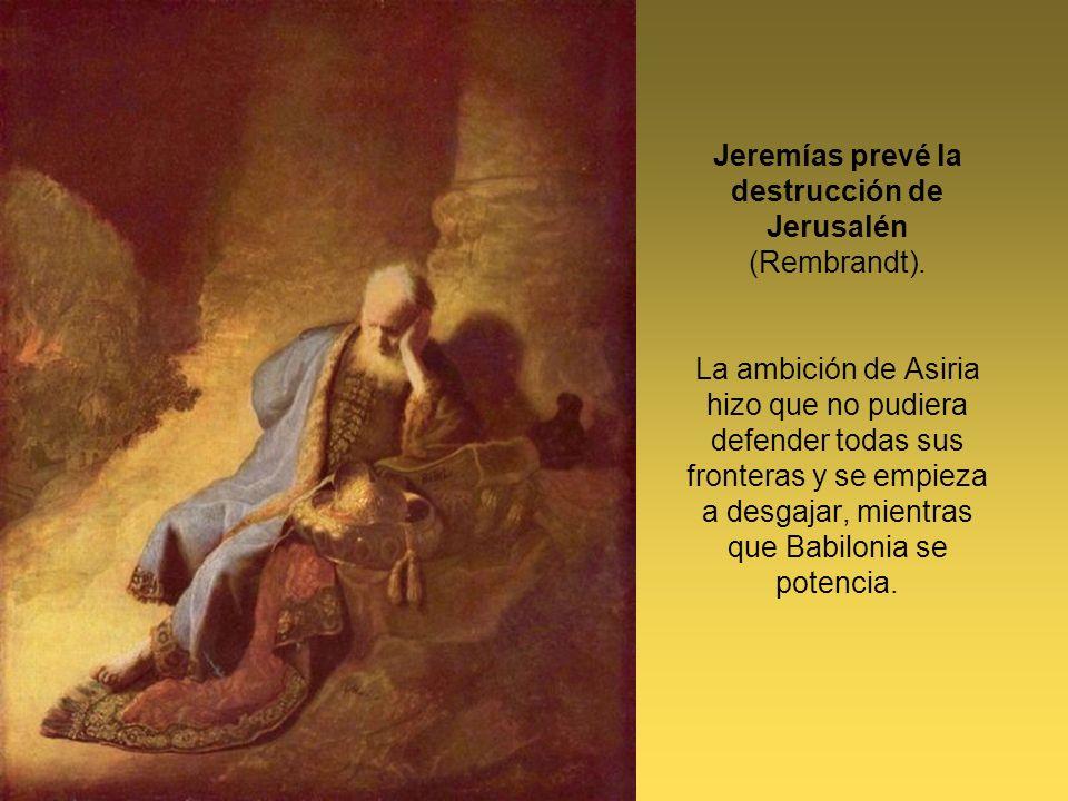 Jeremías prevé la destrucción de Jerusalén (Rembrandt)