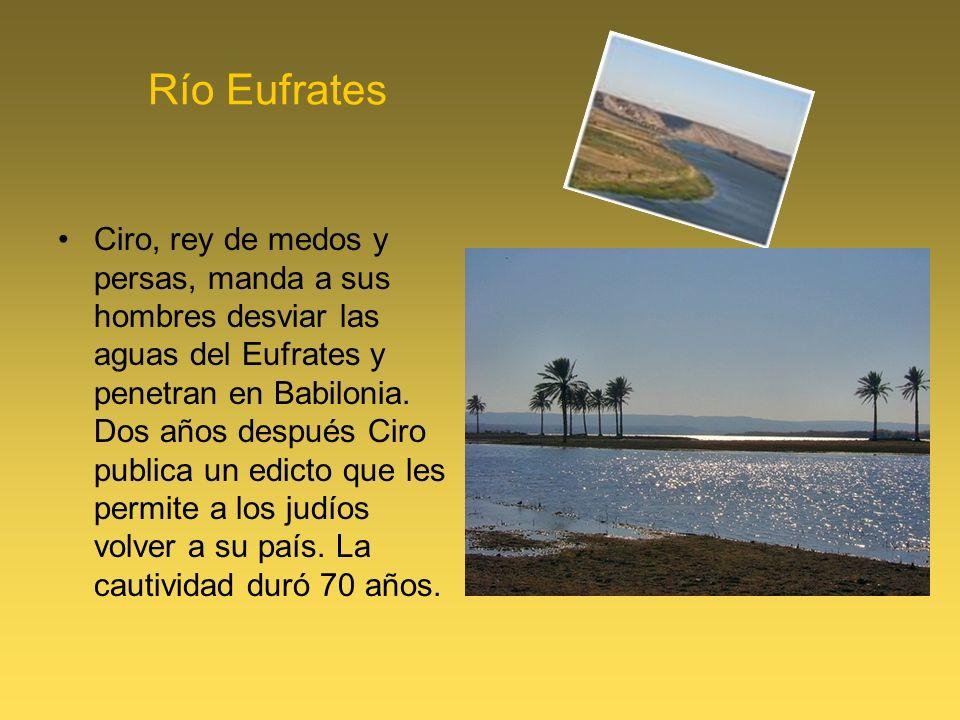 Río Eufrates