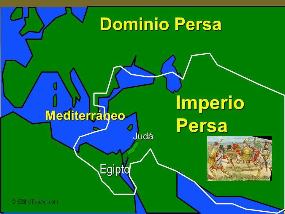Imperio Persa Dominio Persa Mediterráneo Egipto Judá