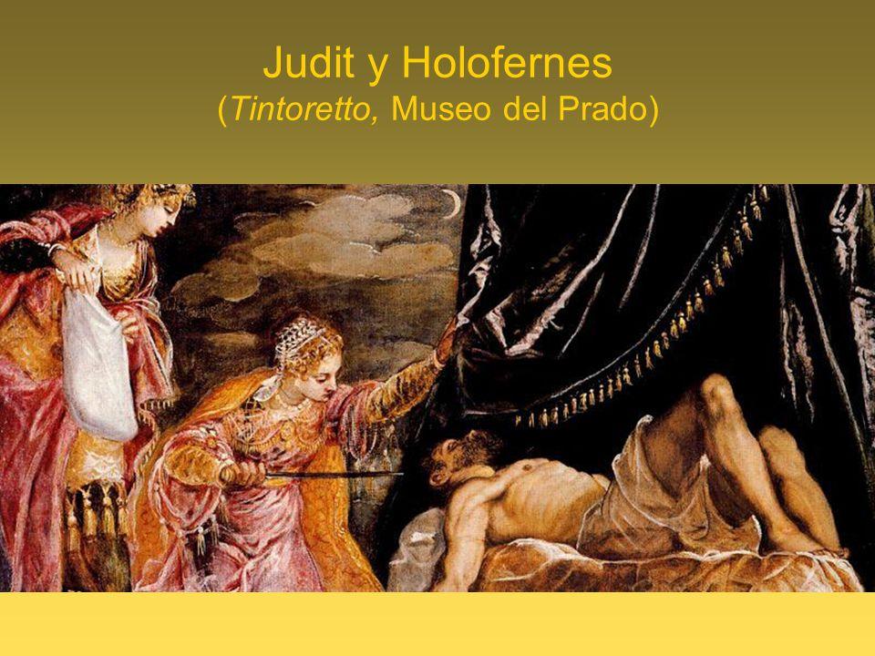 Judit y Holofernes (Tintoretto, Museo del Prado)