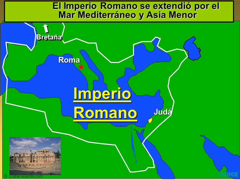 Click to add title Imperio Romano Click to add text Israel