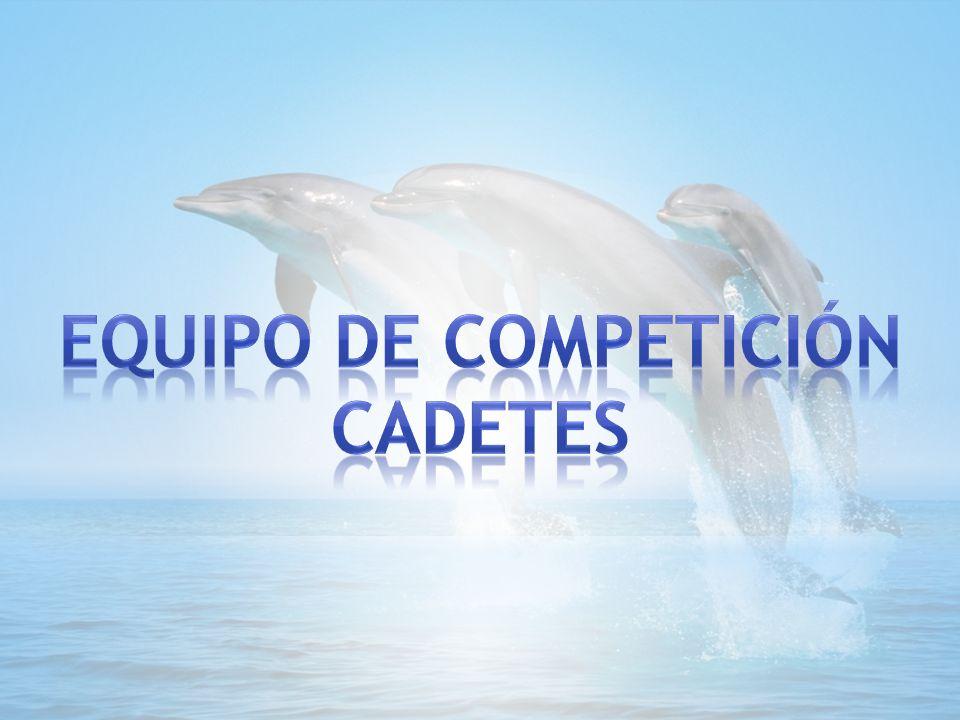 EQUIPO DE COMPETICIÓN CADETES