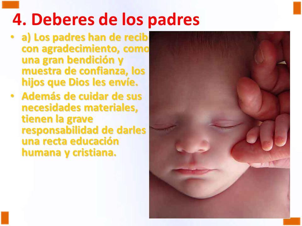 4. Deberes de los padres