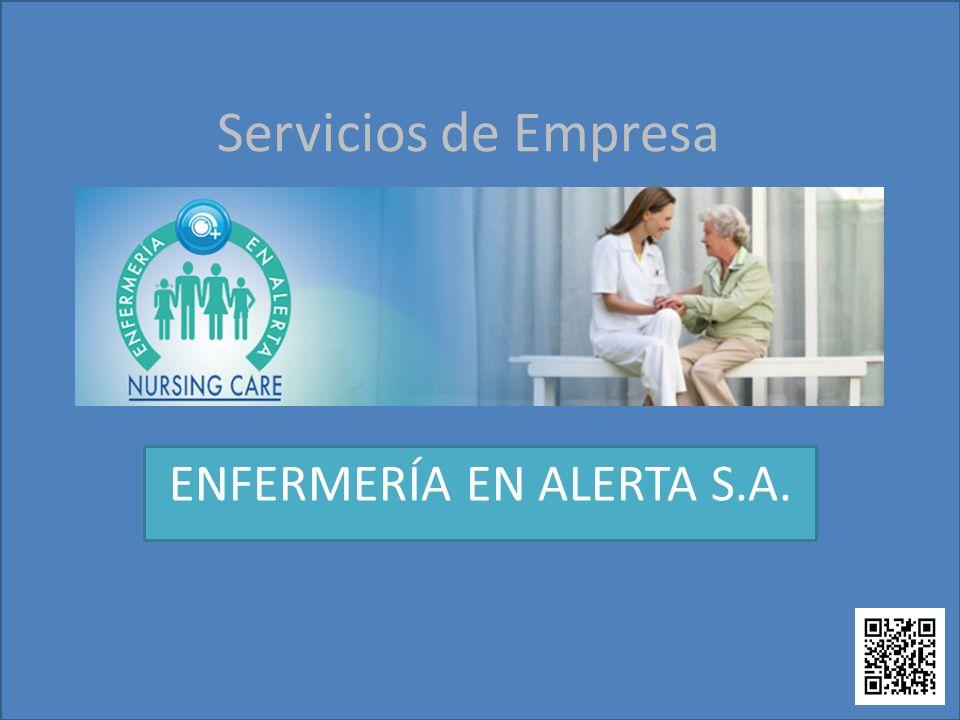 ENFERMERÍA EN ALERTA S.A.