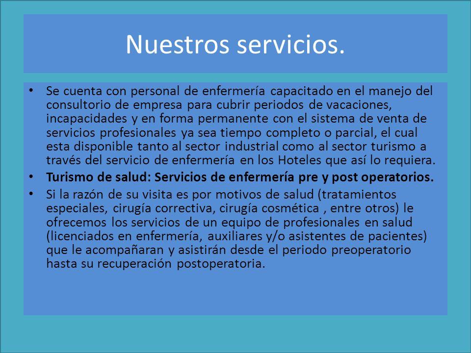 Nuestros servicios.